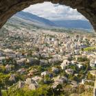 Old Town Gjirokaster from the castle. PHOTOS: GETTY IMAGES