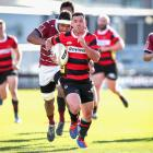 Ryan Crotty played just 40 minutes but managed to score twice in Canterbury's thumping win over...