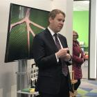 Education Minister Chris Hipkins makes the announcement at Shotover Primary School in Queenstown...