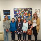 Holly Wilson, 11, Tessa Bamford, 9, Melissa Watson, 9, Meg Wilson, 9, Ruby Peacock, 8, and Vicky...