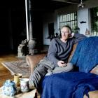 Water activist, artist and writer Sam Mahon at his home in Waikari. Photo: Shelley Topp