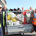 This year's Bluff Street Clean Up found less rubbish than expected, but still filled more than a...