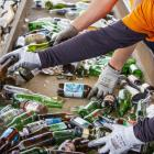 A regulated product stewardship scheme for glass bottles could mean a deposit-refund scheme...