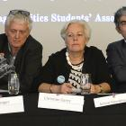 Dunedin mayoral candidates (left to right): Scout Barbour - Evans, Malcolm Moncrief - Spittle,...