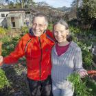 Meg and John Christie are almost fully self sufficient by growing close to 100 different types of...