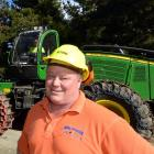 Logging contractor Mike Hurring, of Balclutha, encourages all men to get their prostate checked....