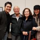 Vietnamese Society of Christchurch spokesman Minh Lengoc and his wife Thao with Showbiz...