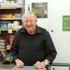 Familiar face, familiar place . . . Brian Fraser has been serving customers in his North End...