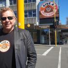 Council chief executive Craig Stevenson was walking down the high street sporting t-shirt with a ...