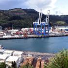 Port Chalmers container terminal. Photo: ODT files