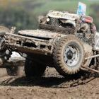 Scott Campbell competes in the Southern Dirtfest near Milton on Saturday. photo by Craig Baxter.