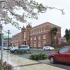 Selwyn College on Castle St, Dunedin. PHOTO: PETER MCINTOSH