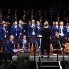Southland Girls' High School choir Femme performs at the Big Sing National Finale in the Dunedin...