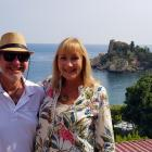 Misha and Andy Wilkinson were celebrating their 25th wedding anniversary sailing around the Greek...