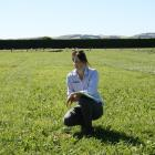 Shannon Morton likes the variety in her role as a pasture systems agronomist for Barenbrug...