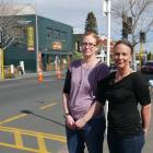 Parents Kimberly Smith and Tania Henwood want the crossing outside George Street Normal School...