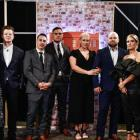 The Block NZ 2019 contestants during the final show and live auction. Photo: Supplied via NZ Herald