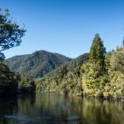 The Wairaurahiri River is a river in southern Fiordland, New Zealand, draining Lake Hauroko into...