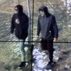 Two men sought following an assault. Photo: Supplied