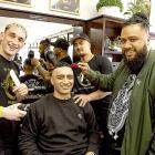 My Fathers Barbers - Doug Lockley, David Nioulinifotu-Moala, Tahere Ngaheu and Matt Brown. ...