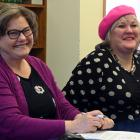 Dianne Rogers, of Blind and Low Vision New Zealand, an ambassador for the organisation Julie...