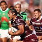 Sea Eagles prop/lock Martin Taupau is one of many NRL players in the Samoa side.