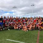 The Canterbury Bulls overcame New South Wales Country 17-16 at Nga Puna Wai on Saturday. Photo:...