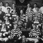 The Crescent (Kaitangata) rugby football team which won the South Otago flag and championship cup...