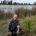 Geoff Spark and his family spent two summers planting native trees around the edge of their 500m...