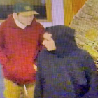 CCTV shows the two men police are seeking in relation to a Ferry Rd robbery.