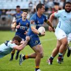 Matt Whaanga is brought down during Otago's big loss to Northland in Whangarei. Photo: Getty Images