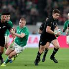 Beauden Barrett put in an imperious performance from fullback. Photo: Getty Images