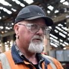 Hillside mechanical engineer Graeme Sayer is overjoyed to see investment in his workplace. Photo:...