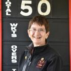 Long-serving Albion scorer Helen Simpson is clocking up her 50th season for the club.PHOTO:...