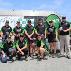 Ten competitors lined up in last year's North Canterbury district contest and skills day at the...