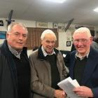 Canterbury Rowing Association and Union Rowing Club life member James Sheehan, CRA patron and URC...