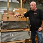 McClelland Refrigeration owner John McClelland shows how a heating coil should look post cleaning...