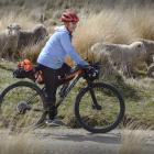 Dunedin city councillor Kate Wilson travels along Ramrock Rd towards Dunedin yesterday afternoon....