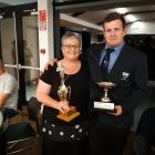 Prebbleton club secretary Kim Thackwell was named Ellesmere volunteer of the year. She is with...