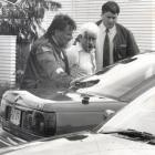 Leslie Maurice Green, seen here being arrested, was once described as the country's most wanted...