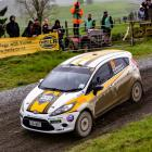 Queenstown's Mike Sheehan and co-driver Glen Goldring won the FIA Group N 2WD class, in a Ford...