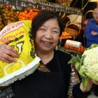 Nancy Young in the Balclutha greengrocers she and her late husband Ngok opened 50 years ago. Son...