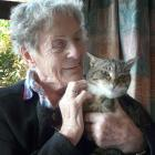 Retired Balclutha sheep farmer Jean Leonard says evidence acquired by her cat Puss illustrates...