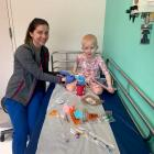 Six-year-old Nora Guise traveled to Texas where her blood was taken and will be made into T cells...