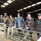 Attending a dog training day at Rocklands Station, Clarks Junction, recently were, from left,...