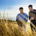 Mark Butler and Jesse Teat launched Tussock Innovation in 2013 with their water level sensor...