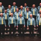Musical director Marian Weaver leads Dunedin's Highland Harmony all-male barbershop chorus during...