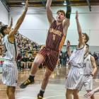 Tom Webley is one of three Cashmere players named in the Canterbury High School All Star Boys...