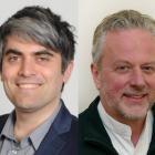 Councillors Aaron Hawkins (left) and Lee Vandervis were comfortably ahead of other contenders in...