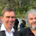 Mayor Andy Foster (left) was bankrolled by Sir Peter Jackson for his mayoral campaign. Photo: NZ...